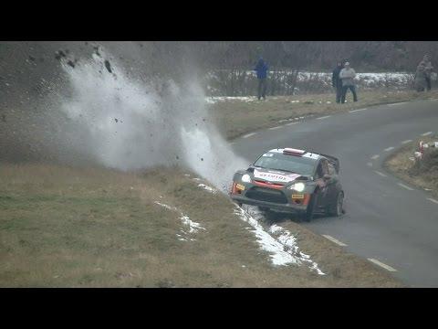 Rallye Monte-Carlo 2015 Crash Robert Kubica