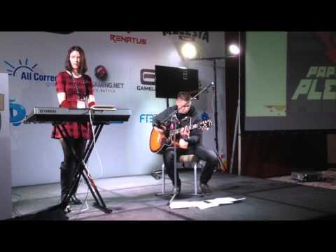 Musical performance on DevGAMM Minsk 2015