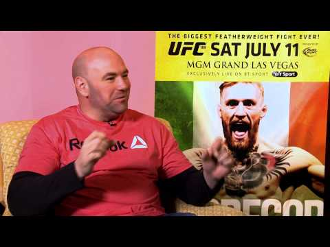 Exclusive: Dana White on Conor McGregor, Croke Park and more