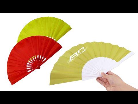 Promotional Paper Folding Hand Fan