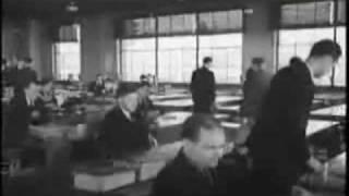 Fabricando automóviles en los años 50 (y sin ordenadores...)