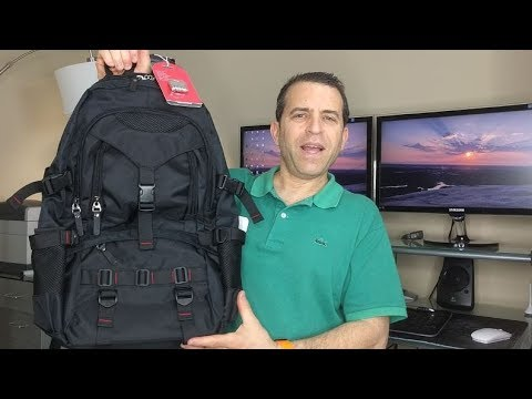 Kaka Water Resistant 17 Inch Laptop Backpack Review