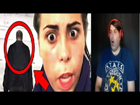 Reaction Video To 5 Ghost Videos SO SCARY You'll Scream for Yo MAMA !