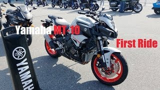 5. Yamaha MT-10 First Ride