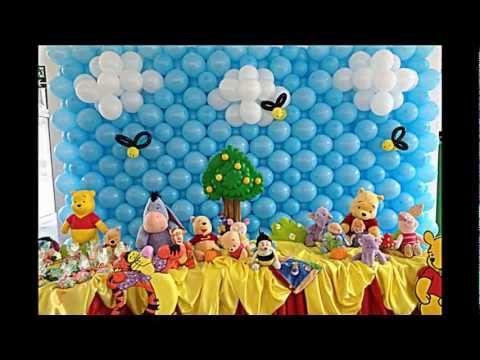 Golosinero winnie pooh para tu fiesta infantil for Decoracion winnie pooh para fiesta infantil