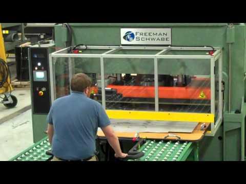 Schwabe SR230 Cutting Press with Manual Progressive Feed