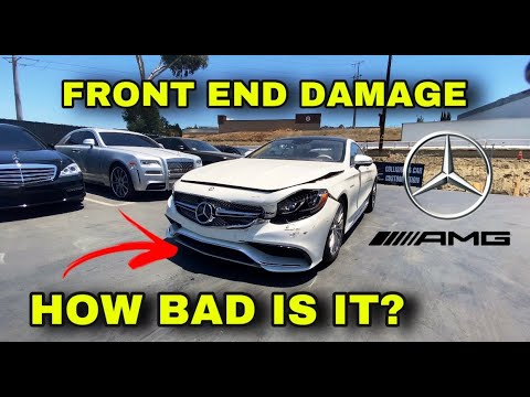 REBUILDING A WRECKED MERCEDES S65 AMG PART 1