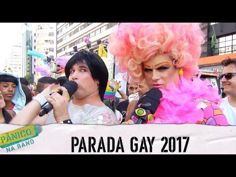 Pânico na Band - PÂNICO EVENTOS: PARADA GAY 2017