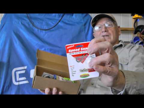 Mystery Tackle Box Ice Fishing best ever KVD lures jigs and stinger hooks