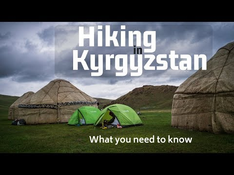 Hiking in Kyrgyzstan-Hiking in Song-Kol (Marking new trails part 1)