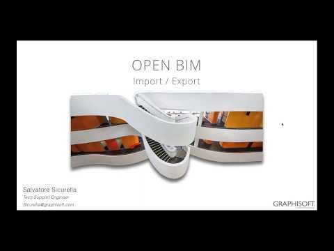 OPEN BIM - importare ed esportare i modelli BIM