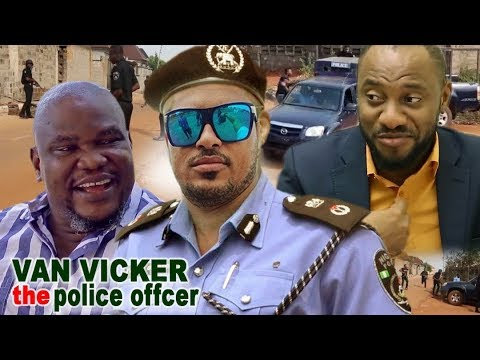Van Vicker The Police Officer  - Van Vicker & Yul  Edochie Latest Nigerian Movie ll African Movie