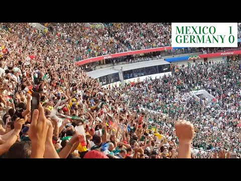 The Final Whistle Moment When Mexico Beat Germany In FIFA World Cup 2018