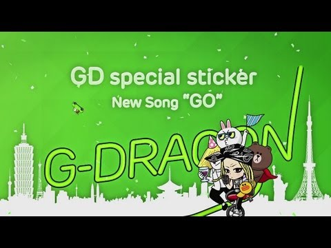 G-DRAGON - '미치GO' releasing exclusively on LINE!