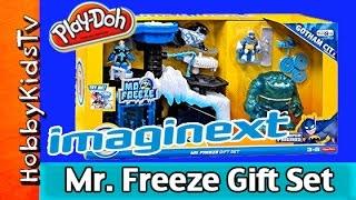 Imaginext Mr. Freeze Headquarters Gift Set Review on HobbyKidsTV