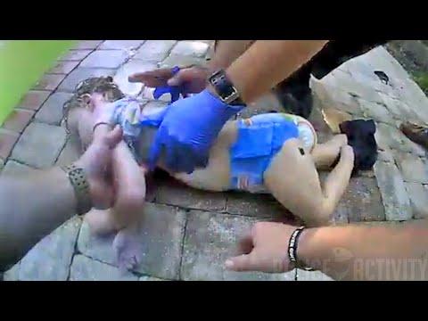 Полицейские Флориды помогают спасти жизнь 3-летней девочки
