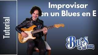 Video Como Improvisar en un Blues en E con la Escala Pentatónica Utilizando Cuerdas Al Aire MP3, 3GP, MP4, WEBM, AVI, FLV Oktober 2018