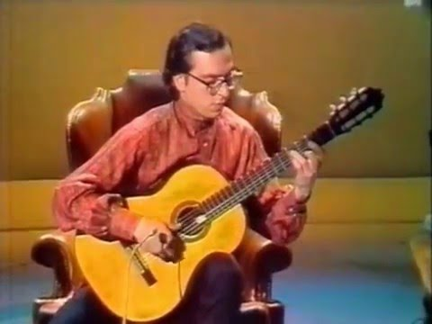 Rare Guitar Video: John Williams plays Sor Variations on a Theme by Mozart