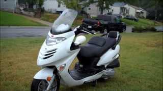 10. 2006 Kymco GrandVista 250cc
