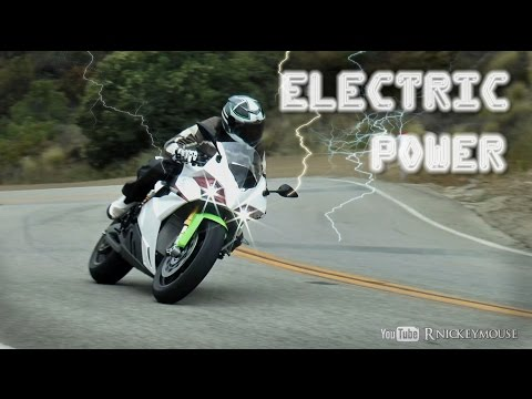 electric - Energica was offering test rides on their new electric motorcycle. The white one currently goes for about $67000, the grey around 30000. Not sure the difference. Since the parts are 3D...