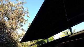 Roof Mounted Folding Arm Awning