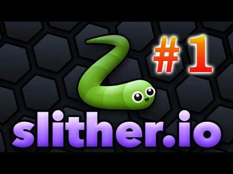 slither.io - #1 - начало