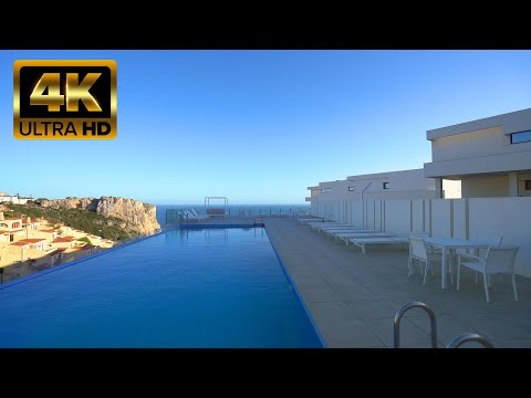 609000€ Новая элитная квартира с видом на море в Испании/Новостройки у моря в Коста Бланке/Морайра
