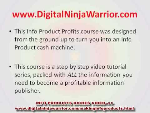 Information Product Creation – How to Create Digital Info Products