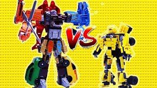 Video Transformers Stop Motion - Bumblebee, Super Wings, Tobot w/ Lego Animation Robot car for kids MP3, 3GP, MP4, WEBM, AVI, FLV Juli 2018