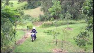 8. David on Yamaha TTR50