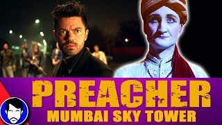"JESSIE & CASSIDY track down an ANGEL! - PREACHER 2x02 Review!Please consider supporting our videos on Patreon ►https://www.patreon.com/Jawiin Preacher Season 2, PREACHER Season 2 Episode 2 ""Mumbai Sky Tower"" Review & Recap!, Preacher Season 2 Episode 2 Review, Preacher Mumbai Sky Tower Review, Preacher Season 2 Trailer, Preacher Season 2 Episode 1 Review, preacher season 2 reactionTwitter ► http://twitter.com/JawiinFacebook ► http://www.facebook.com/JawiintvInstagram ► https://instagram.com/JawiinTumblr ► http://www.jawiin.tumblr.com/T-Shirts/Merch ► https://www.teepublic.com/user/jawiinListen to my podcast, Geek History Lesson!iTunes ► http://bit.ly/GeekHistoryLessonStitcher ►http://www.stitcher.com/podcast/jason-inman-2/geek-history-lessonPLAYLISTS FOR SHOWSThe Flash Season 4► https://goo.gl/8Nnf9NDCTV Recap► https://goo.gl/OVEWB1Geek History Lesson► https://goo.gl/4HrtfpComic Book Videos► https://goo.gl/m6WNy4The Flash Season 3► https://goo.gl/EpnFmDMUSIC by IVYKTORhttps://www.youtube.com/channel/UCF3oyeSq29k23-Q3EB9XCeQI'm a geek who likes to read comic books and is the co-host of DC All Access. Who am I? I'm Jason Inman. For more funny stuff, check us out at http://www.jawiin.comThe views, opinions, and information expressed in this video are those of the hosts and do not necessarily reflect the official policy or position of any agency or company.PREACHER Season 2 Episode 2 ""Mumbai Sky Tower"" Review & Recap!PREACHER Season 2 Episode 2 ""Mumbai Sky Tower"" Review & Recap!PREACHER Season 2 Episode 2 ""Mumbai Sky Tower"" Review & Recap!PREACHER Season 2 Episode 1 ""On The Road"" Review & Recap!preacher season 2 reactionPreacher Season 2Preacher Season 2 Episode 2 Reviewruth neggaPreacher Season 2 Episode 2 Easter EggsPreacher Season 2 Official TrailerPreacher 2x02Preacher 2x03 promodominic coopergarth ennisseason 2amcPreacher 2x01"