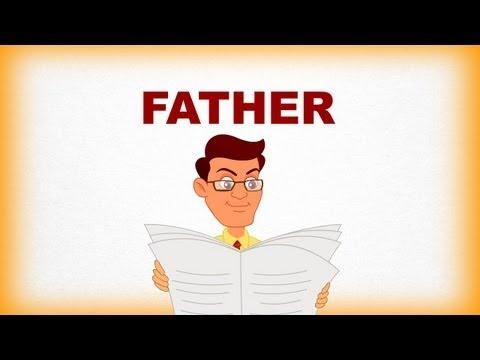 Ailem ve Ben, Father-Çocuklar İçin İngilizce Öğrenme Videosu
