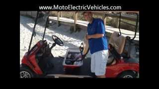 6. Electric Low Speed Vehicles | 4 Passenger FF Street Legal Golf Cart From Moto Electric Vehicles