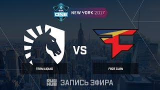 Liquid vs FaZe, game 1