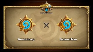 SamuelTsao vs greensheep, game 1