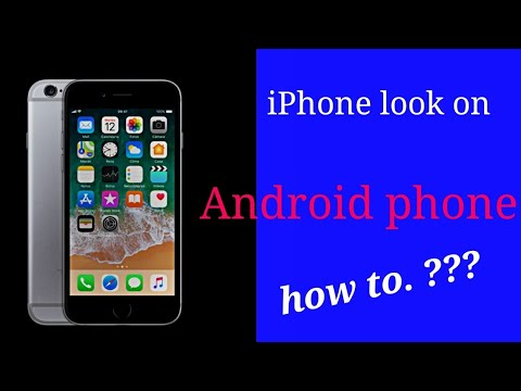 Change android to iphone without Root.iPhone lock  How to change Android phone to iPhone look.