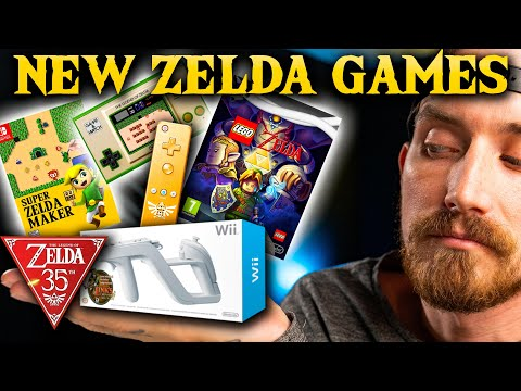 4 NEW Zelda Games for the Zelda 35th Anniversary! What Could be Coming- Nintendo 2021