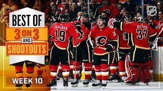 Best 3-on-3 and Shootout Moments from Week 10 by NHL