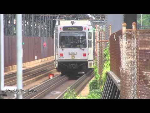 pittsburgh - rare footage of the light rail in the suburban areas of Pittsburgh. Then a comprehensive footage of the light rail in downtown as it becomes a subway.