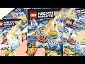 LEGO Nexo Knights Blind Bags Opening! 30 Nexo Powers!