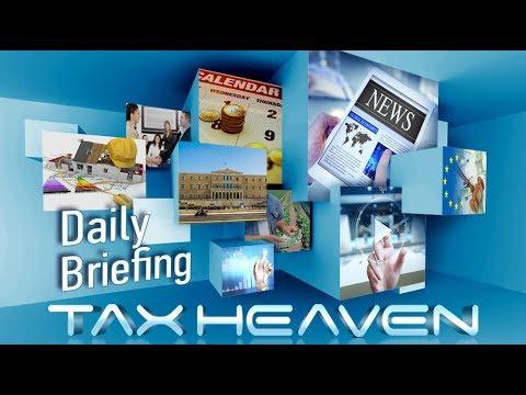 Το briefing της ημέρας – Παραδείγματα έκπτωσης ασφ. εισφορών, φόρος διαμονής κ.ά. (19.01.2018)