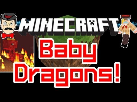 Minecraft Mods - RED BABY DRAGON ! Mystic Fire Water & Earth Dragons Mod !