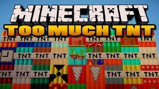 Video Minecraft: Too Much TNT Mod | 35 New TNTs! MP3, 3GP, MP4, WEBM, AVI, FLV Juni 2019