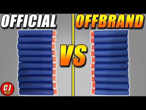 Nerf Buying Guide - Nerf Suction Darts Vs Offbrand Episode #1