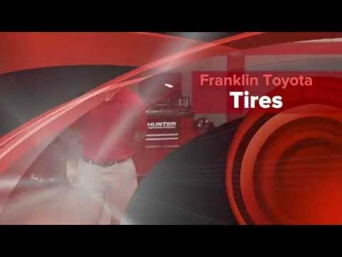 Tires Franklin Toyota Statesboro, GA