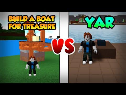 Build A Boat For Treasure VS yar (ROBLOX)