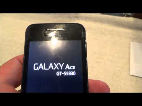 comment debloquer samsung galaxy ace