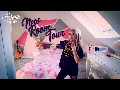 New Bedroom Tour In The Loft, Kids Bedroom Tour 2017 And 2018 With JoJo Bows