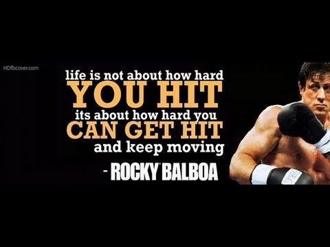 Rocky Balboa's inspirational speech to his son [Music By. Bmusic6]
