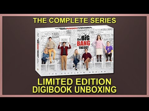 The Big Bang Theory: The Complete Series Limited Edition Blu-ray Digibook Unboxing